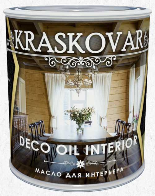 Масло для интерьера Kraskovar Deco Oil Interior