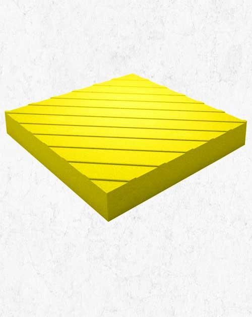 Тактильная плитка (Диагональ) 30х30х5 см