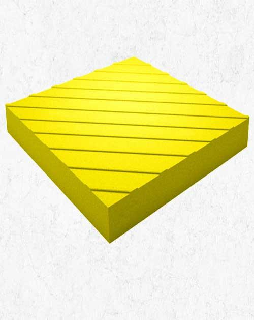 Тактильная плитка (Диагональ) 50х50х5 см