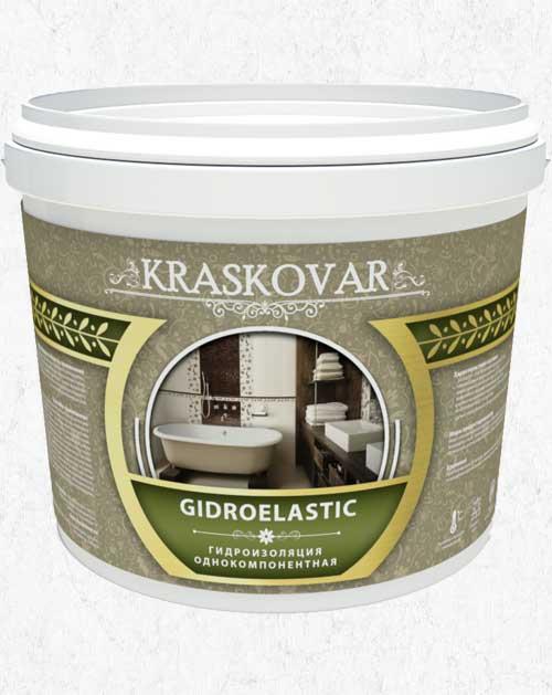 Гидроизоляция каучуковая однокомпонентная Kraskovar