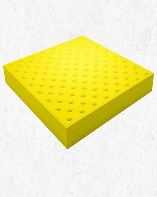 Тактильная плитка (Конус) 50х50х5 см