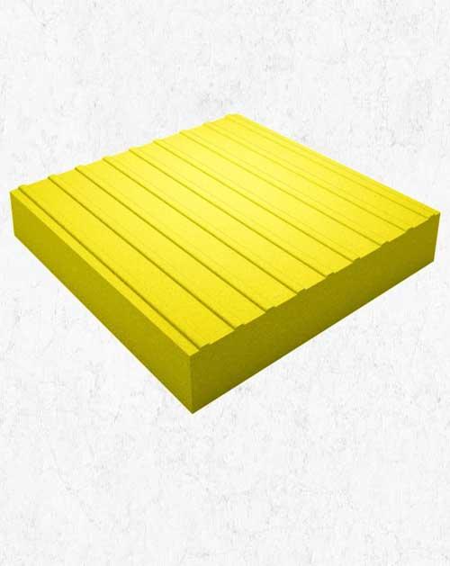 Тактильная плитка (Прямой) 30х30х5 см