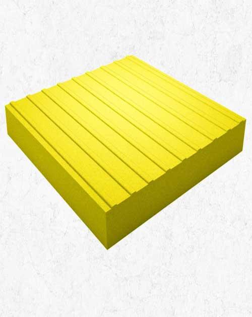 Тактильная плитка (Прямой) 50х50х5 см